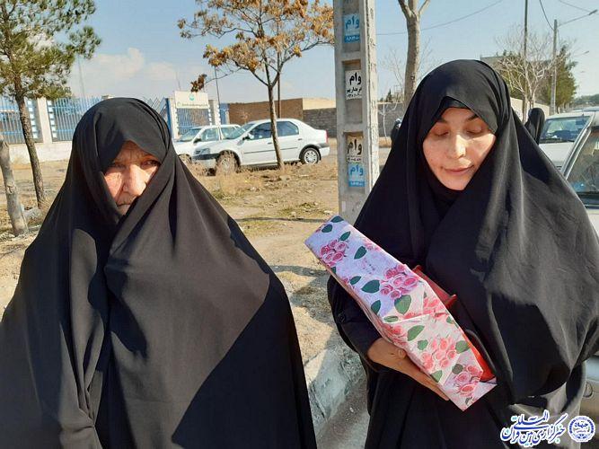 حافظ کل قرآن عصمت کاملی از روستای کیذور سبزوار