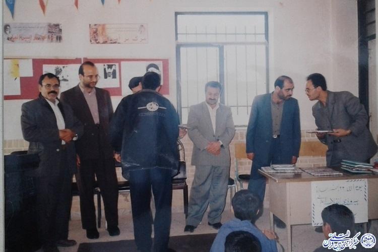 سلطانی فر معلم قرآن سلطان آباد، مرکز شهرستان خوشاب 12