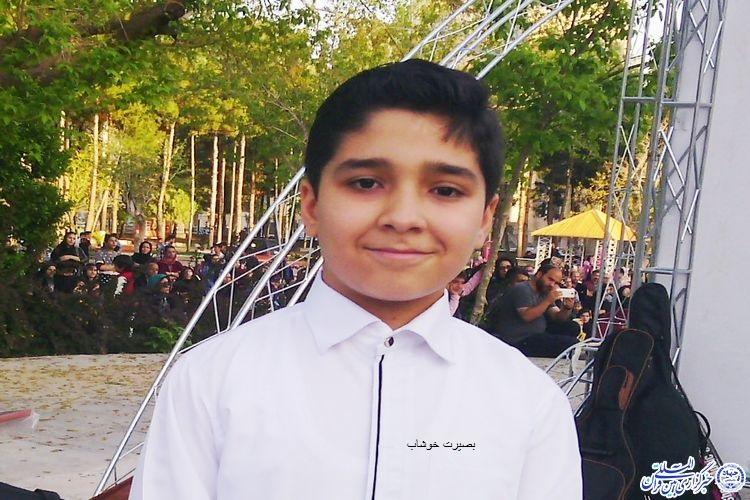 از خوانندگی تا قرائت قرآن نوجوان سبزواری - سید علی علوی