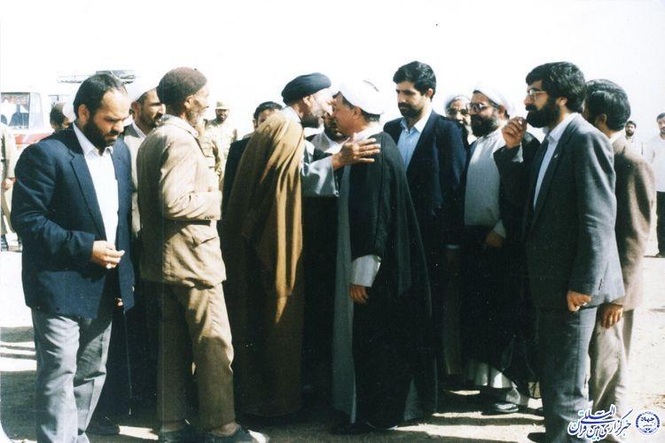 تنها رئیس جمهوری که به روستای نمونه ایثارگری شهرستان خوشاب سفر کرد