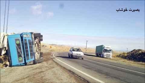 کابوس، همسفر مسافران جاده سبزوار به شهرستان خوشاب