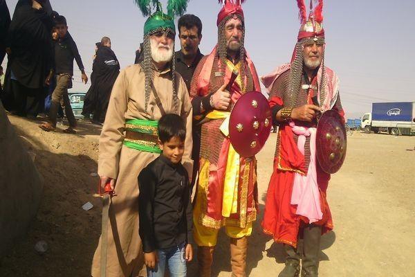 تعزیه خوانی روز عاشورا سلطان آباد مرکز شهرستان خوشاب