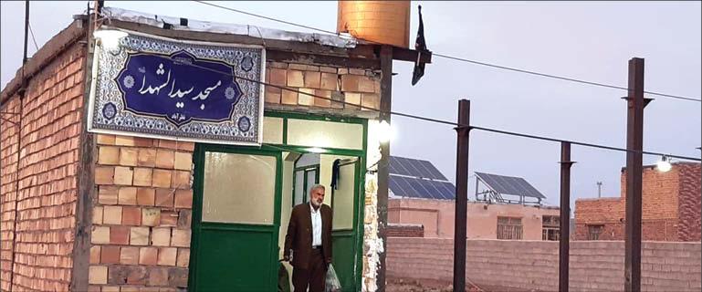 ساخت مسجد و اختصاص زمین برای احداث آرامگاه روستای نظرآباد در خوشاب