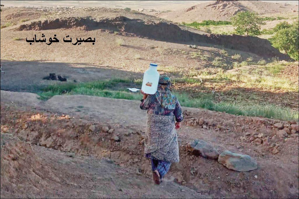 گزارشی درباره گلایه تعدادی از اهالی روستاهای خوشاب از نحوه توزیع آب شرب، مجتمع های آب رسانی و معضل توزیع عادلانه آب روستاها
